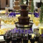Заказать шоколадный фонтан на свадьбу
