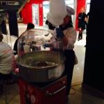 Тумба с аппаратом сладкой ваты